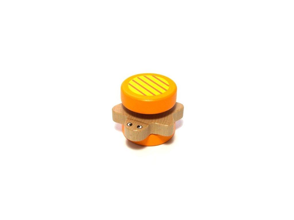 Želva oranžová - chrastítko