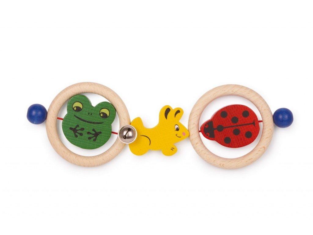 Kroužky do ruky - zvířátka (doprodej)