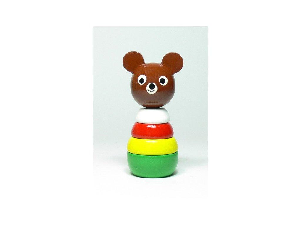 Medvídek - skládačka malá barevná