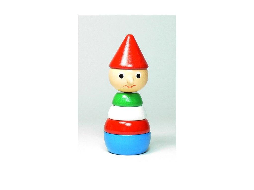Pinochio - skládačka malá barevná
