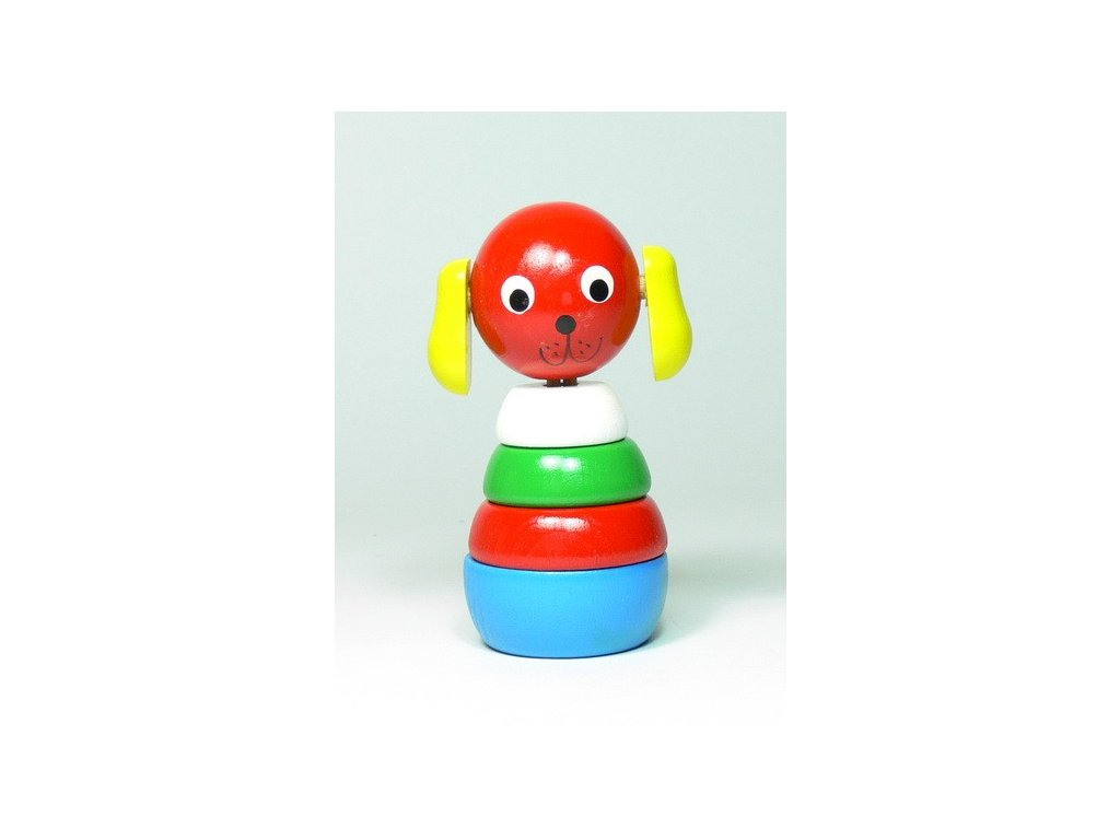 Pejsek - skládačka malá barevná
