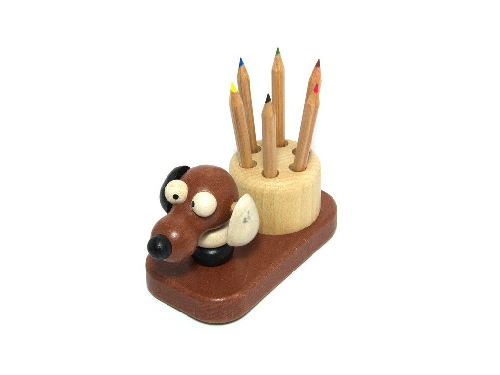 Tužkovník - pes hnědý