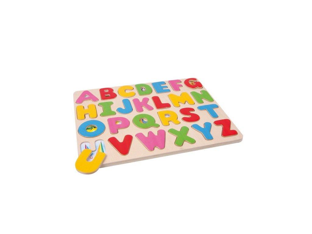 Puzzle - abeceda s obrázky