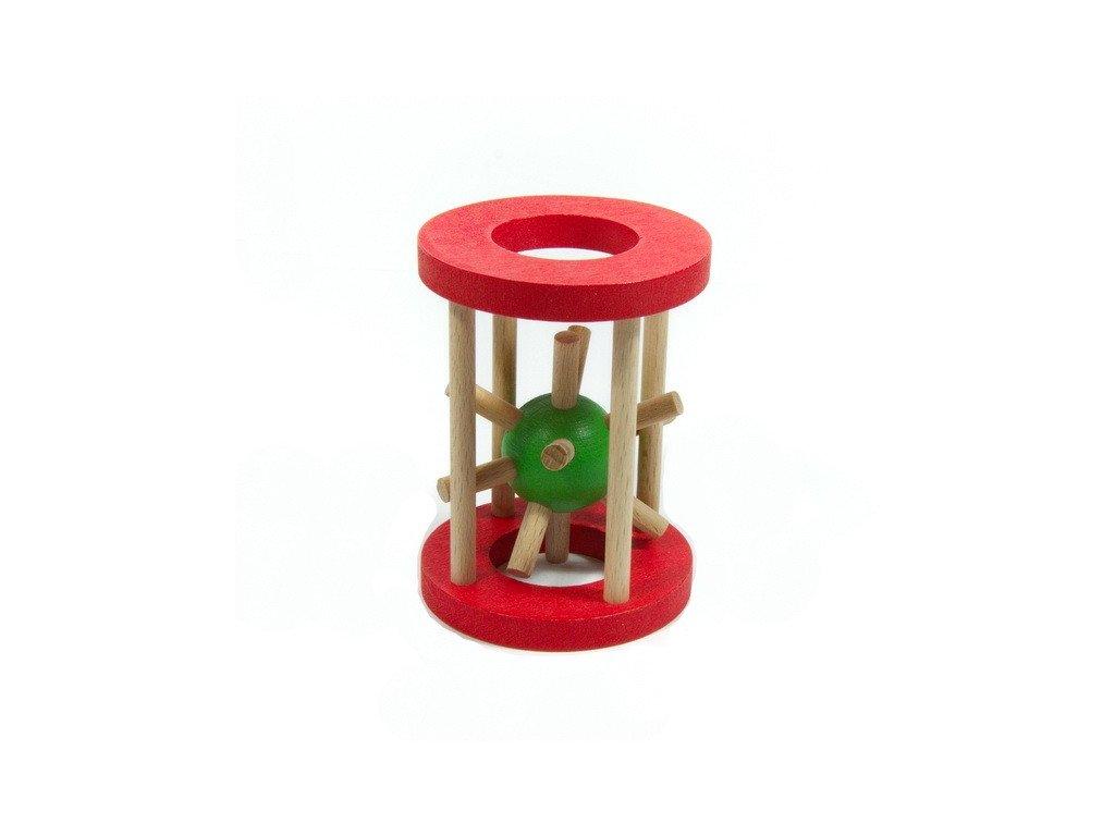 Ježek v kleci - malý červený