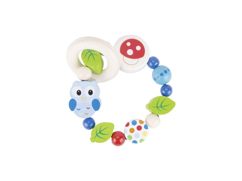 Sova – elastický kroužek pro miminka