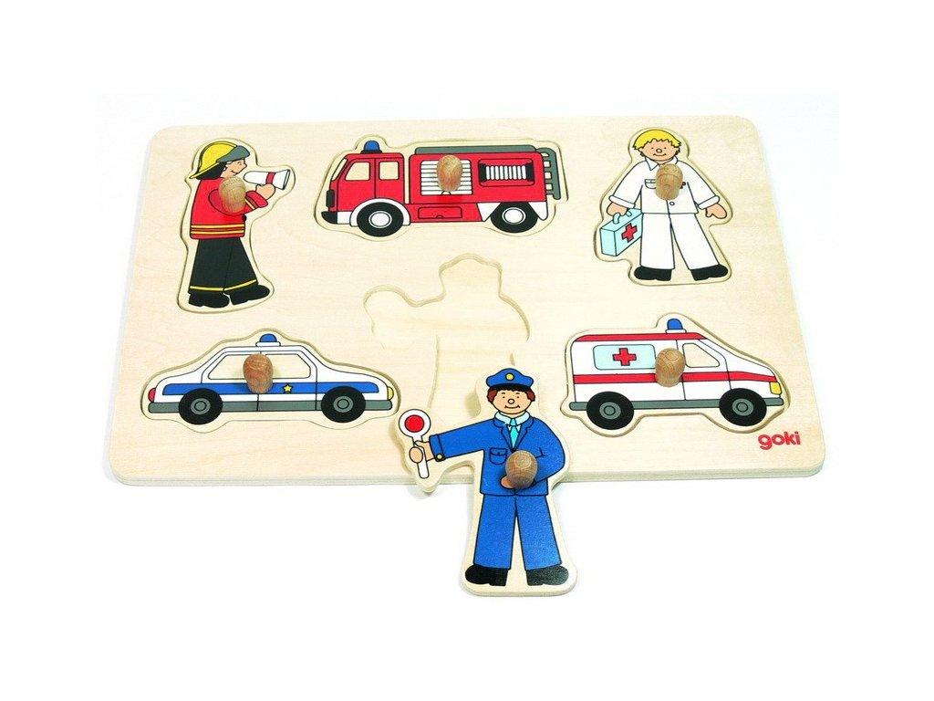 Puzzle – Záchranné sbory