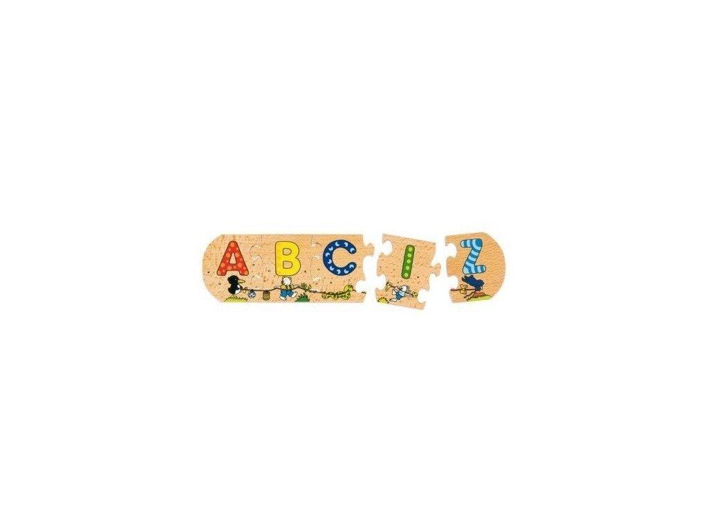 Dlouhé puzzle - Abeceda
