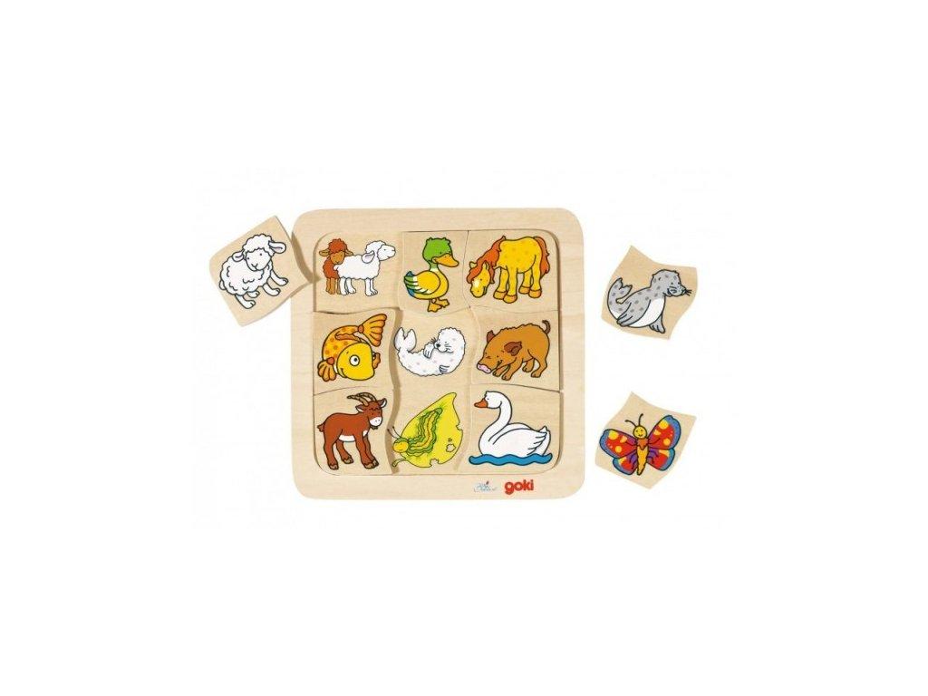 Puzzle - kdo ke komu patří