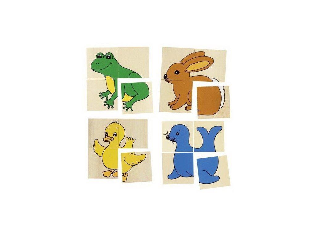 Minipuzzle se zvířátky – Karemo