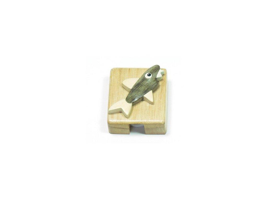 Ořezávátko - Žralok (tropické dřevo)