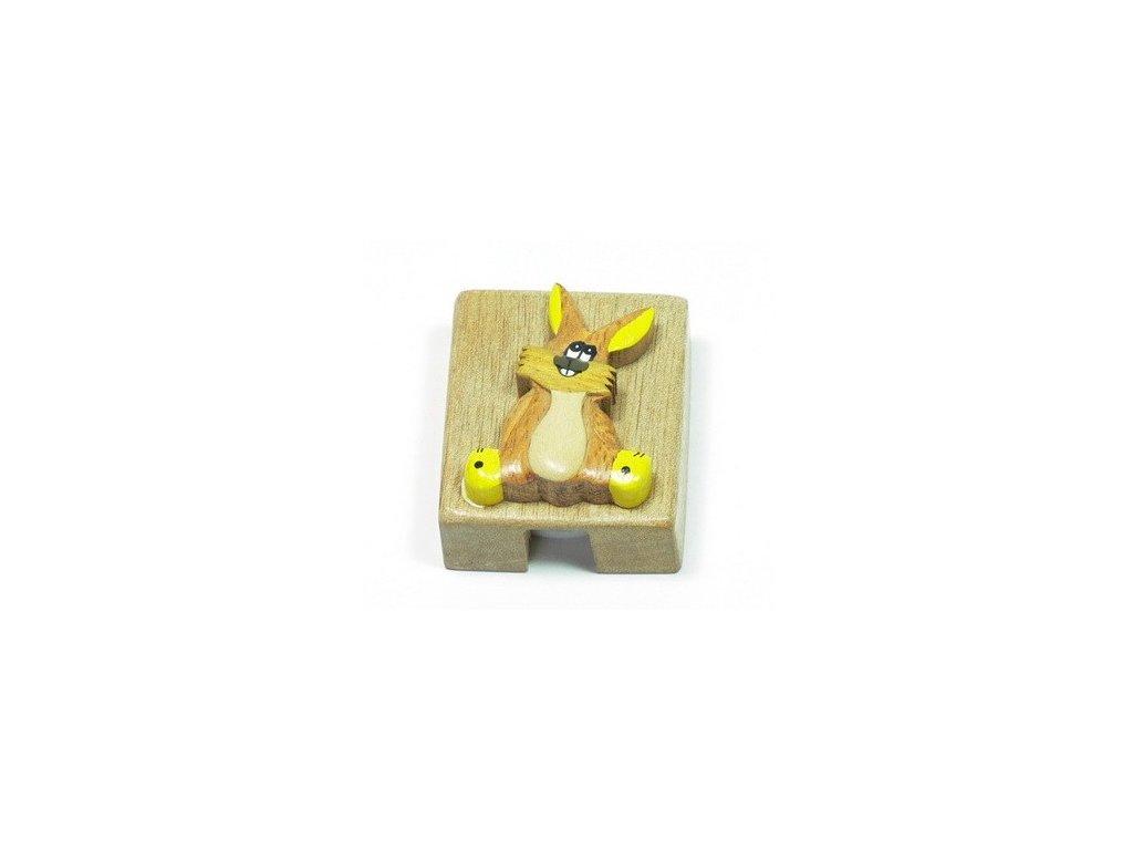 Ořezávátko - Zajíček (tropické dřevo)