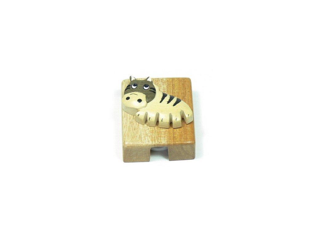 Ořezávátko - Zebra (tropické dřevo)