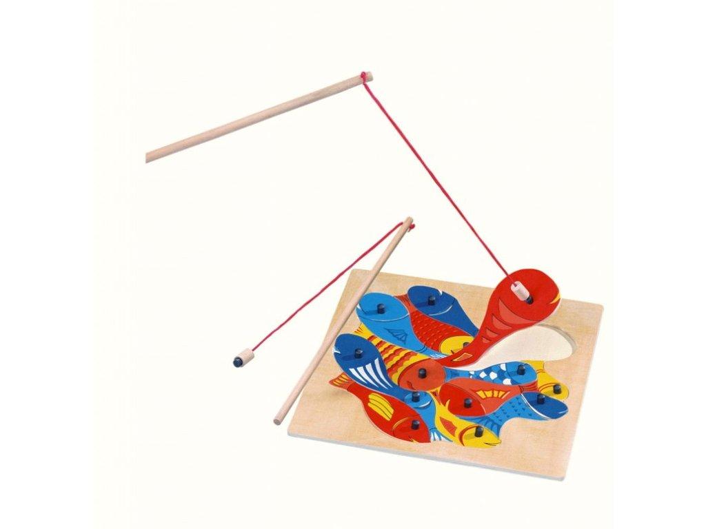 Rybičky s udičkou - magnetické puzzle