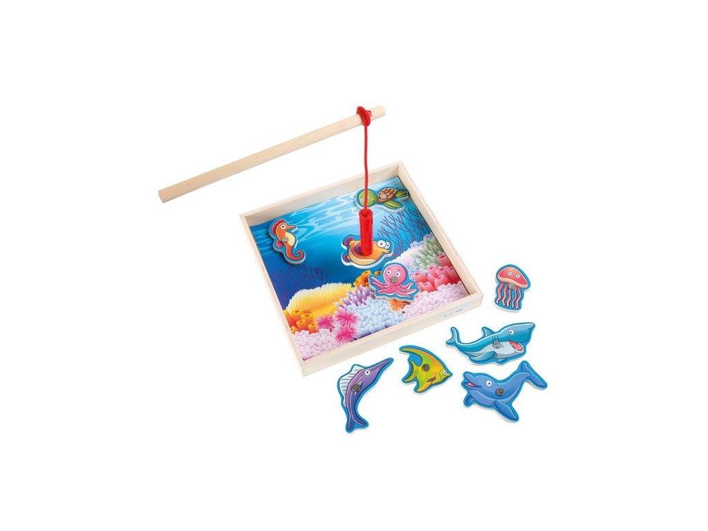 Rybářská hra - zvířátka v moři