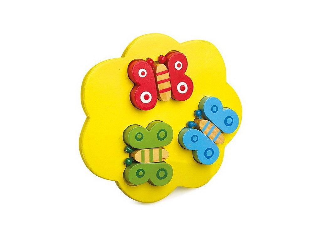 Puzzle 3D - Motýl