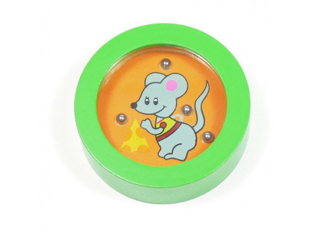 006 - Balancovník - myš se sýrem