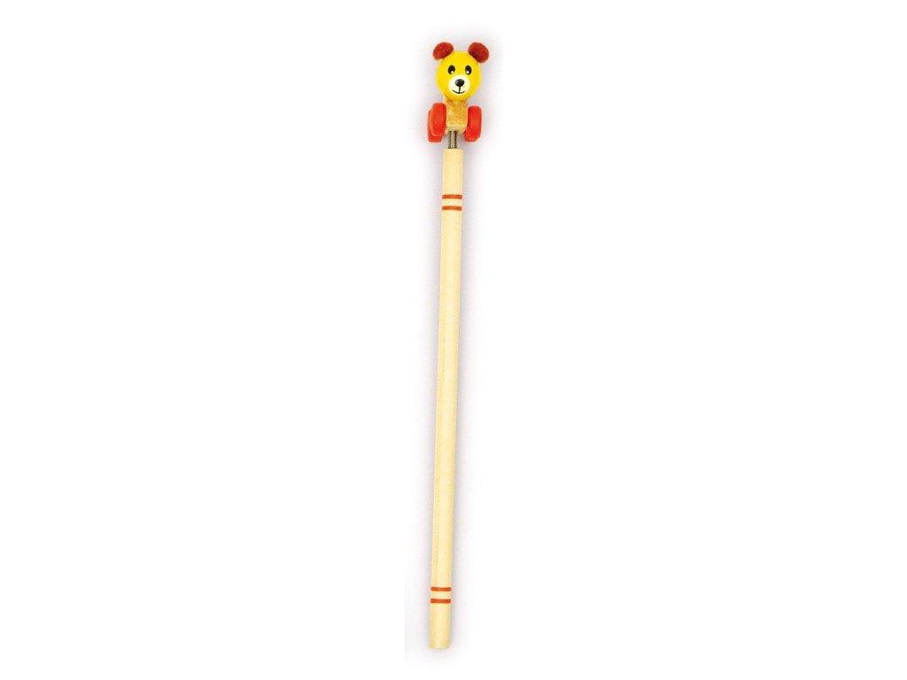 Tužka - medvídek na pérku