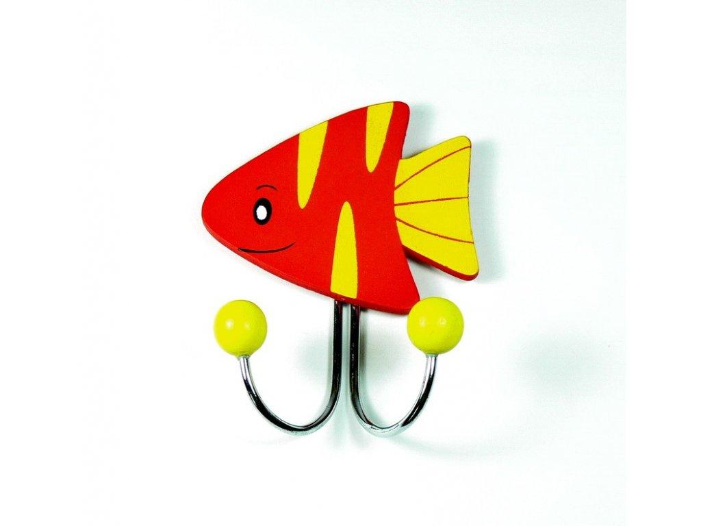 015 - Háček - rybka červená