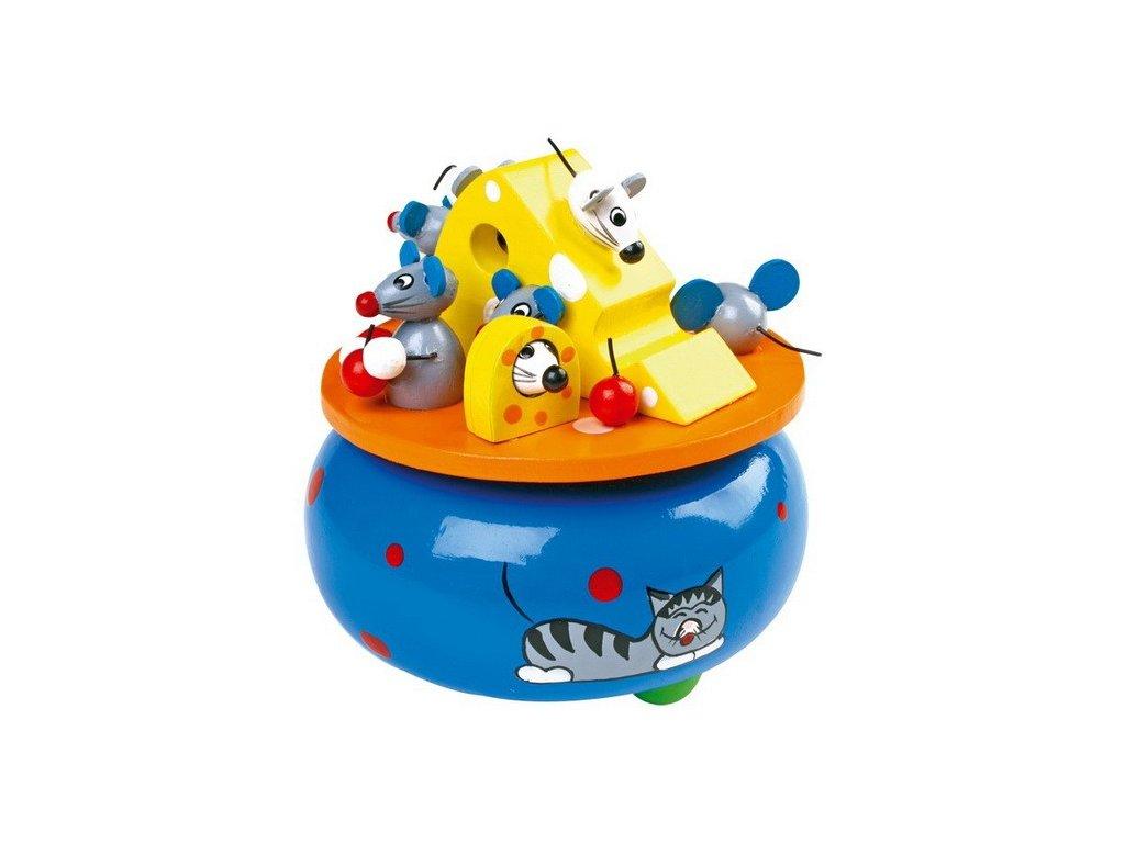 Hrací skříňka Myší sen