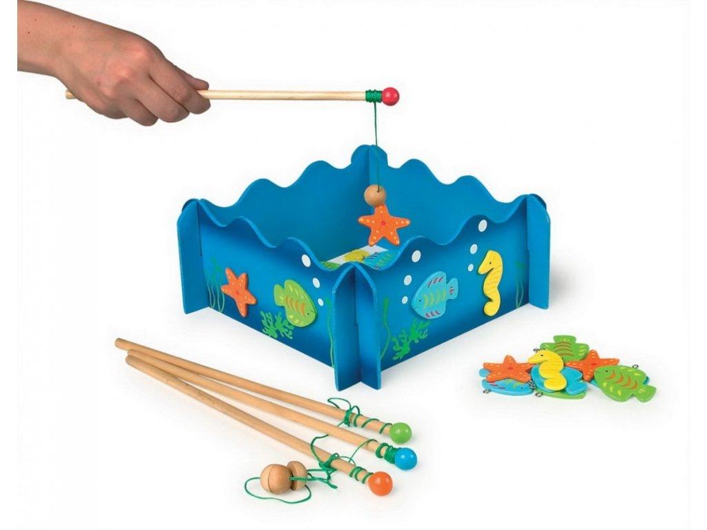 """Rybářská hra """"Mořský svět"""""""