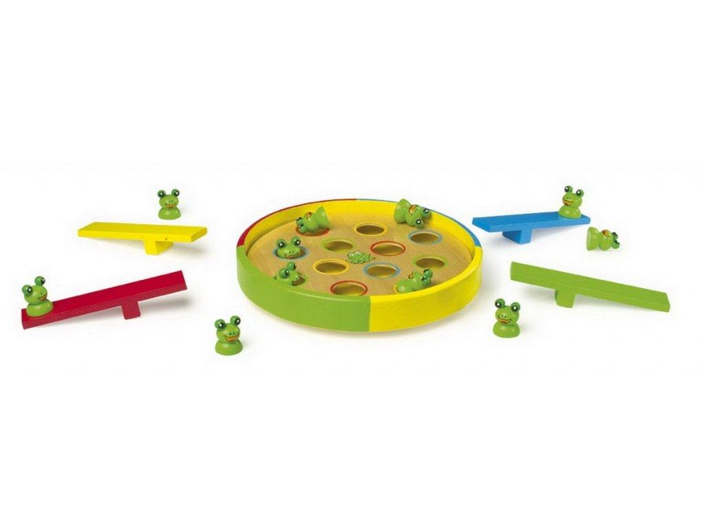 Kloboučku hop - skákající žabky