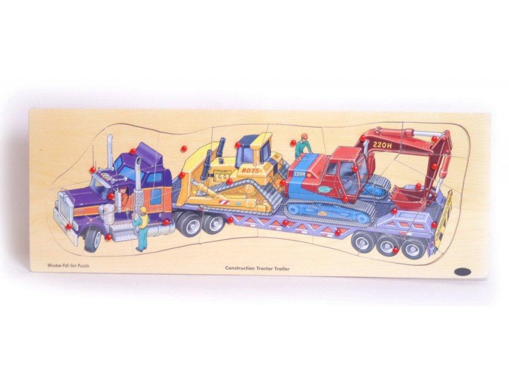 Puzzle velké - nákladní auto