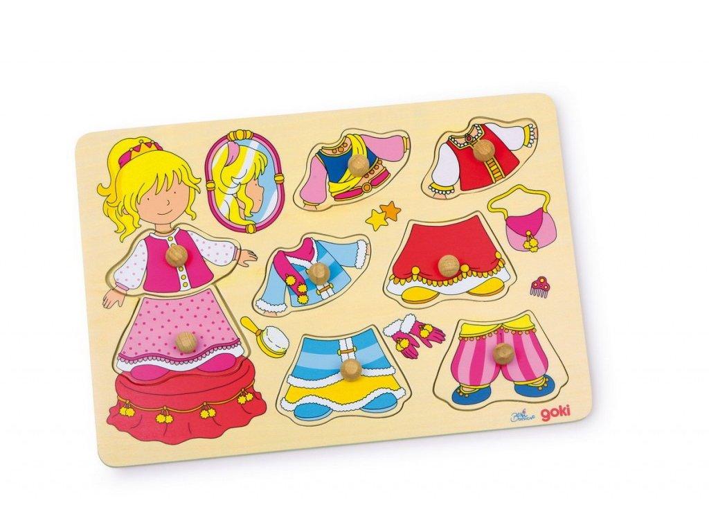 Puzzle - princezna
