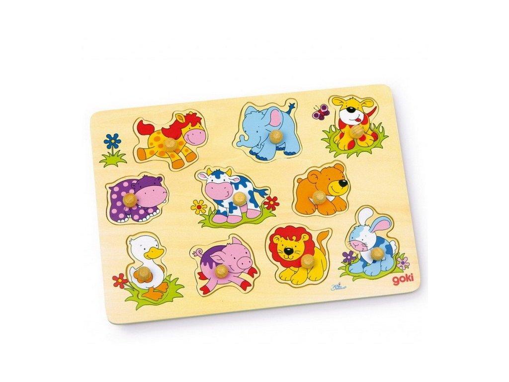 Puzzle - 10 zvířátek