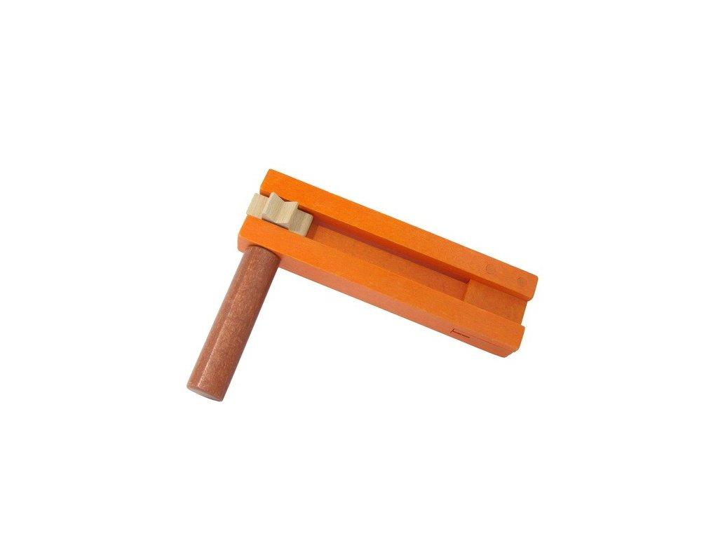 Řehtačka oranžovohnědá