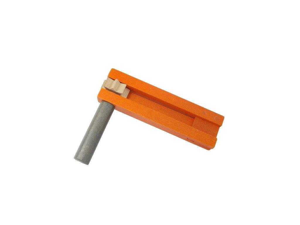 Řehtačka oranžovošedivá