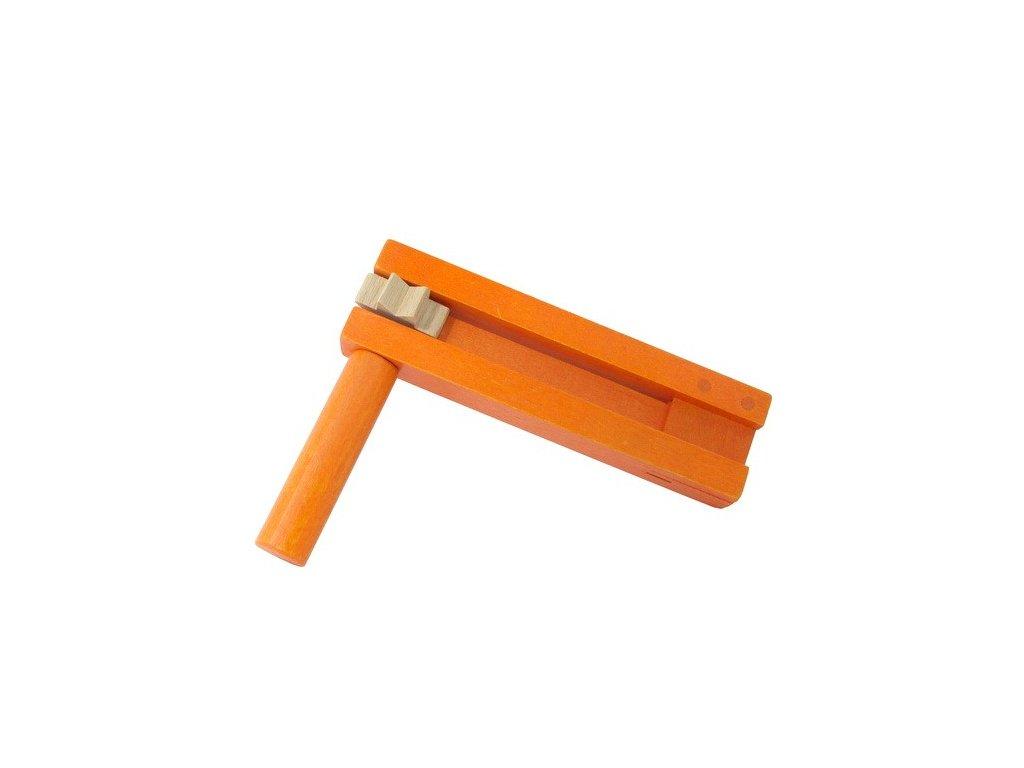 Řehtačka oranžová