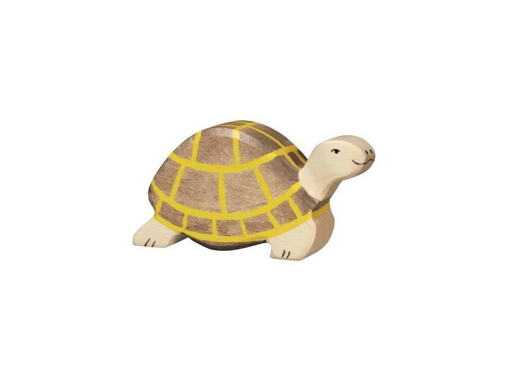 Želva – zvířátko ze dřeva