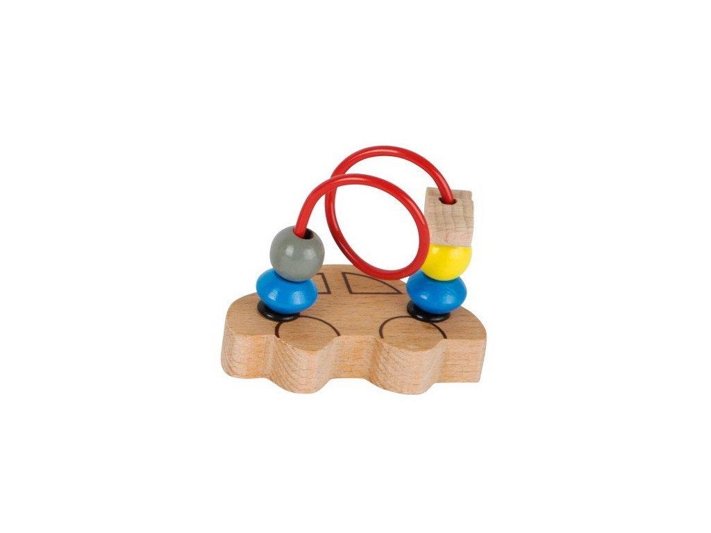 Mini motorický labyrint - Auto