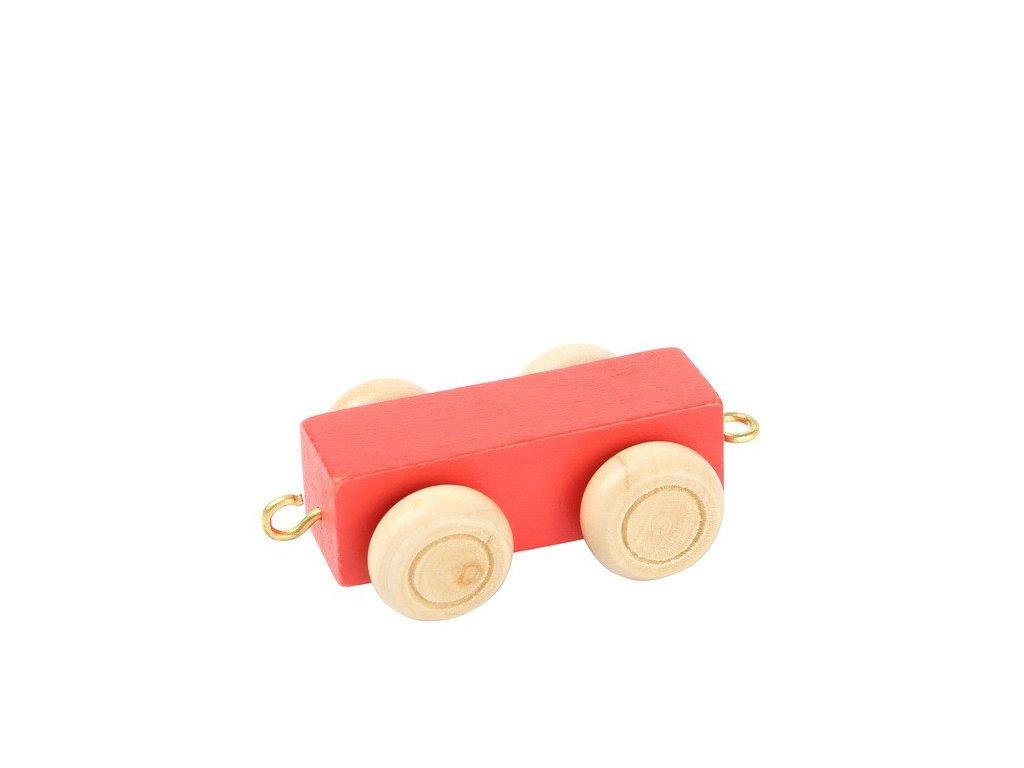 Pomlčka - barevný vlak
