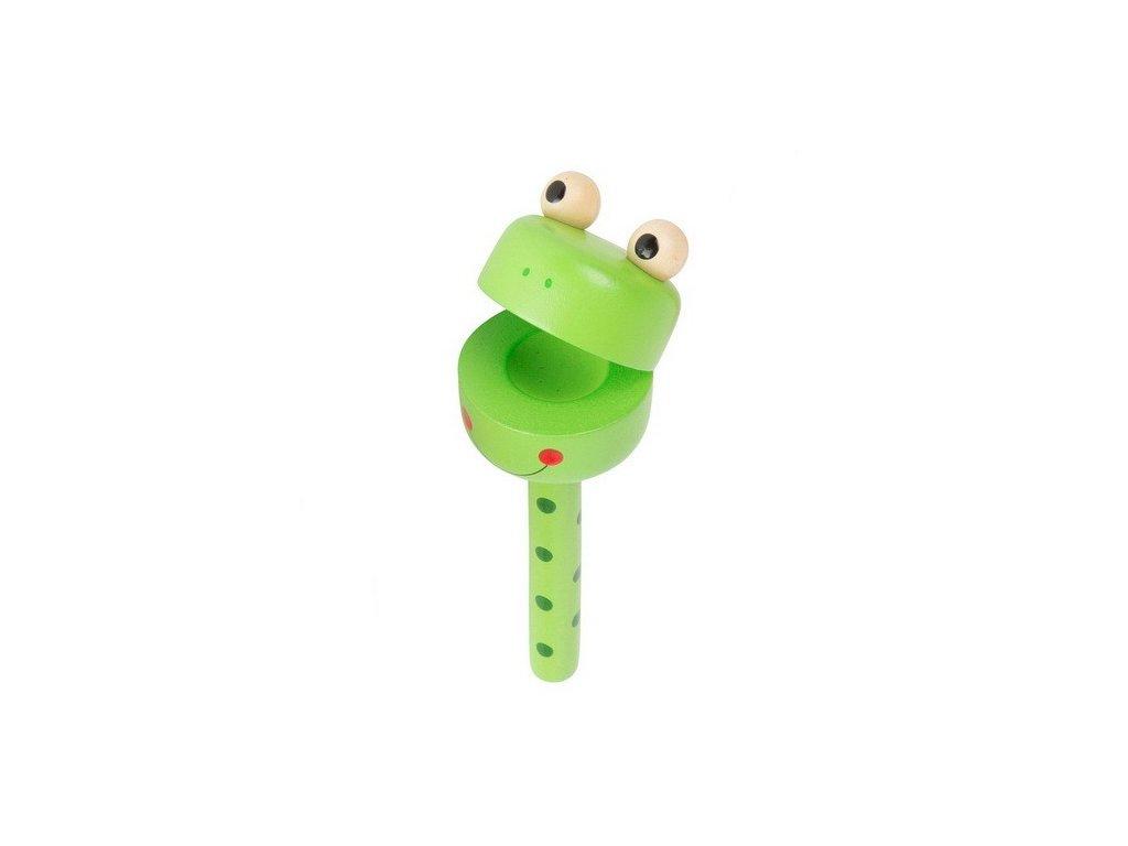 Klapací hlava – Žabka