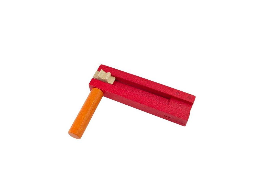 Řehtačka červenooranžová