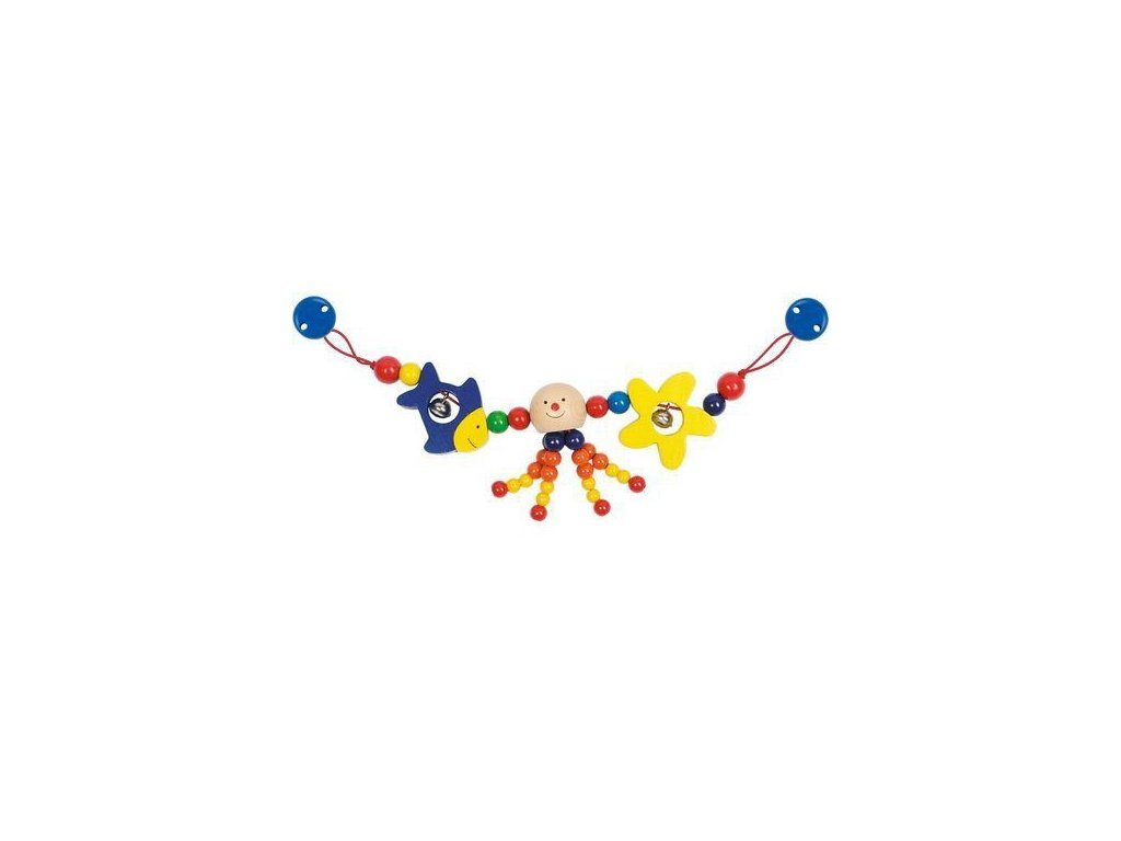 Chobotnice – řetěz do kočárku