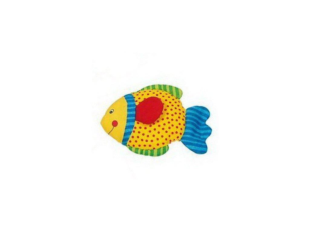 Rybka šustící - žlutá
