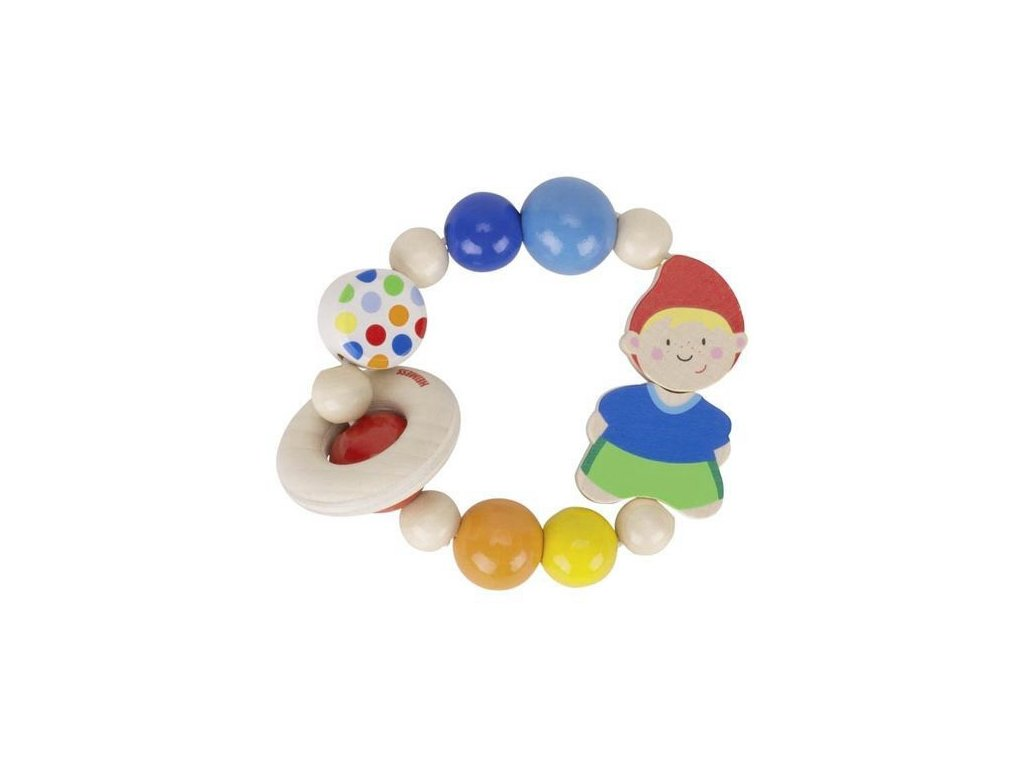 Elastická hračka do ručky – trpaslík