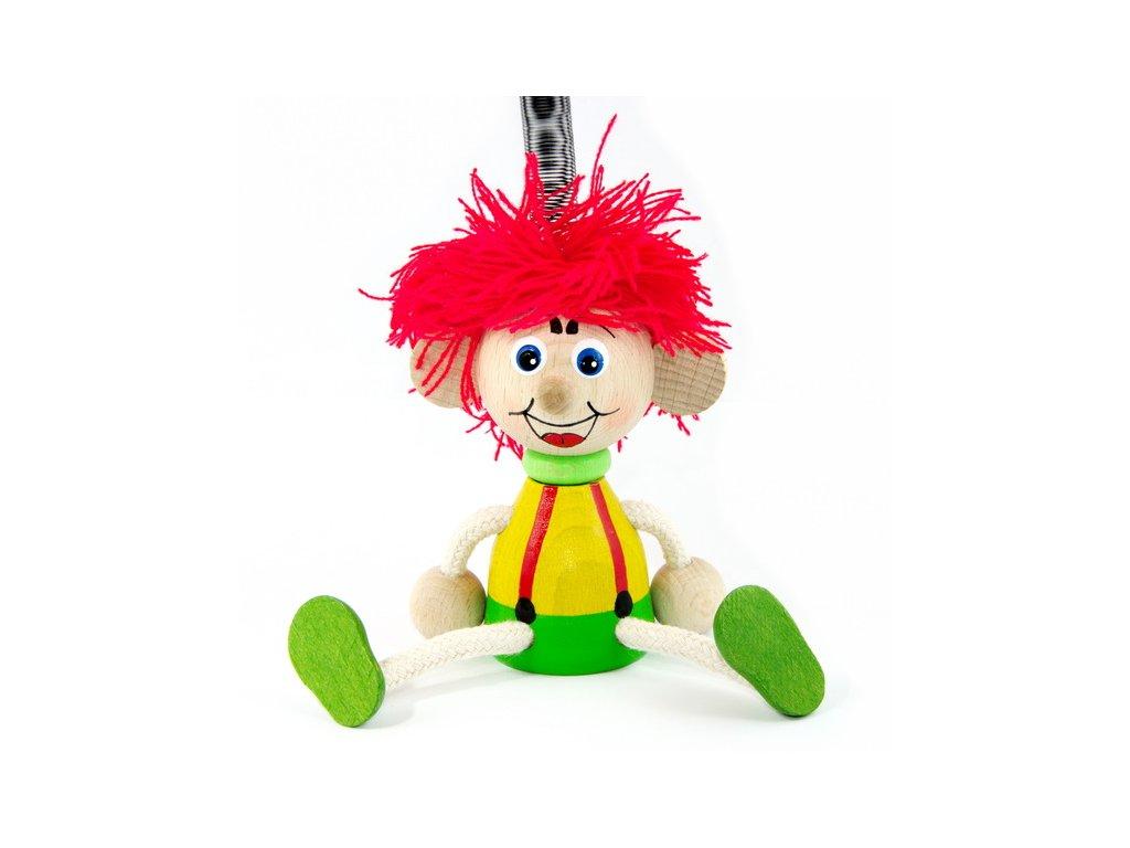 kluk vlasy červené