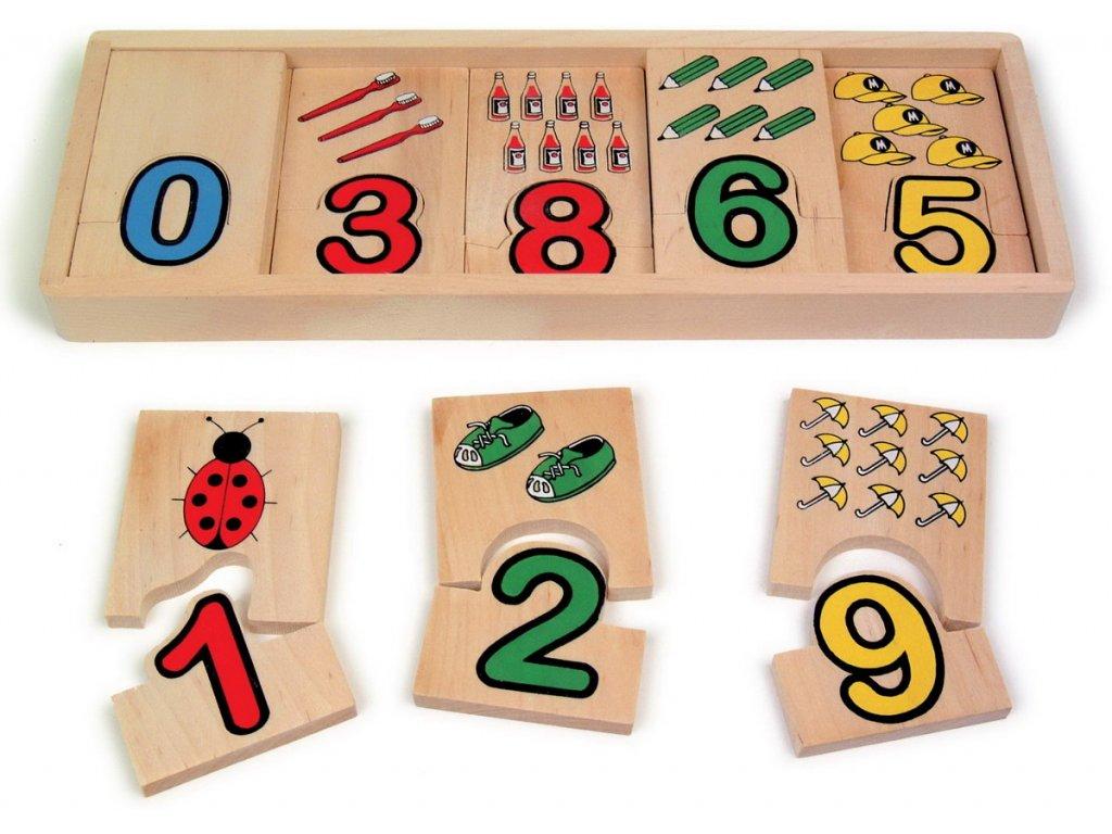 Legler Přiřaď čísla