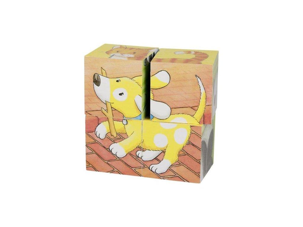 Goki Kostky s obrázkem – Baby zvířátka 2