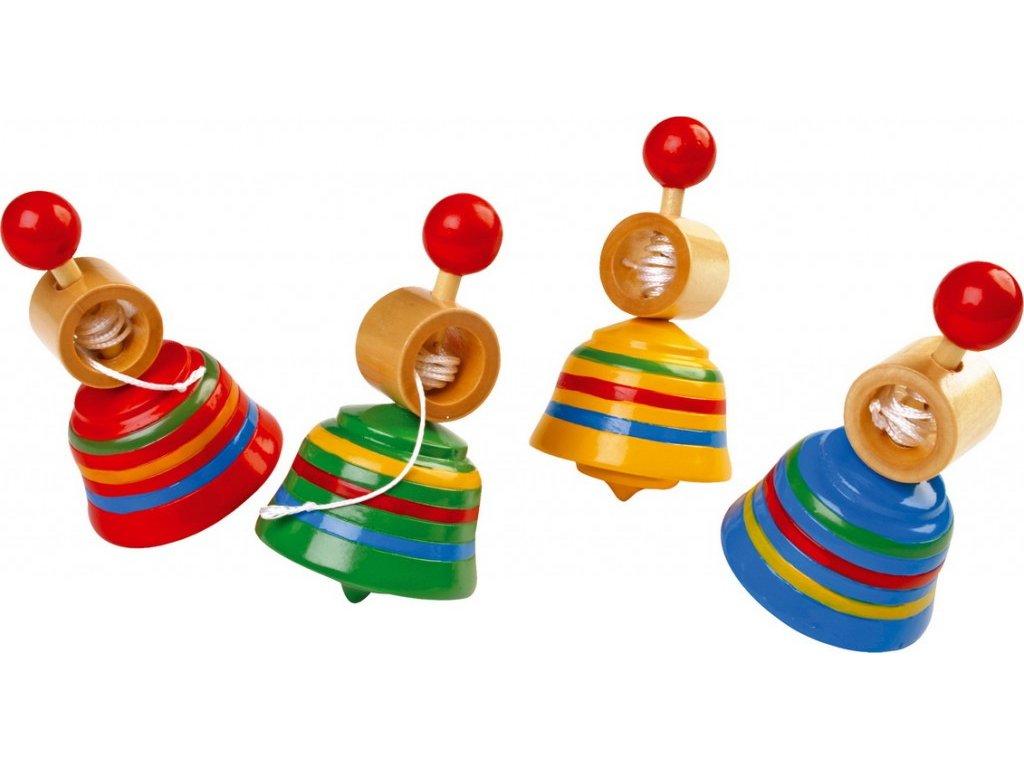 Káča - zvonek s provázkem