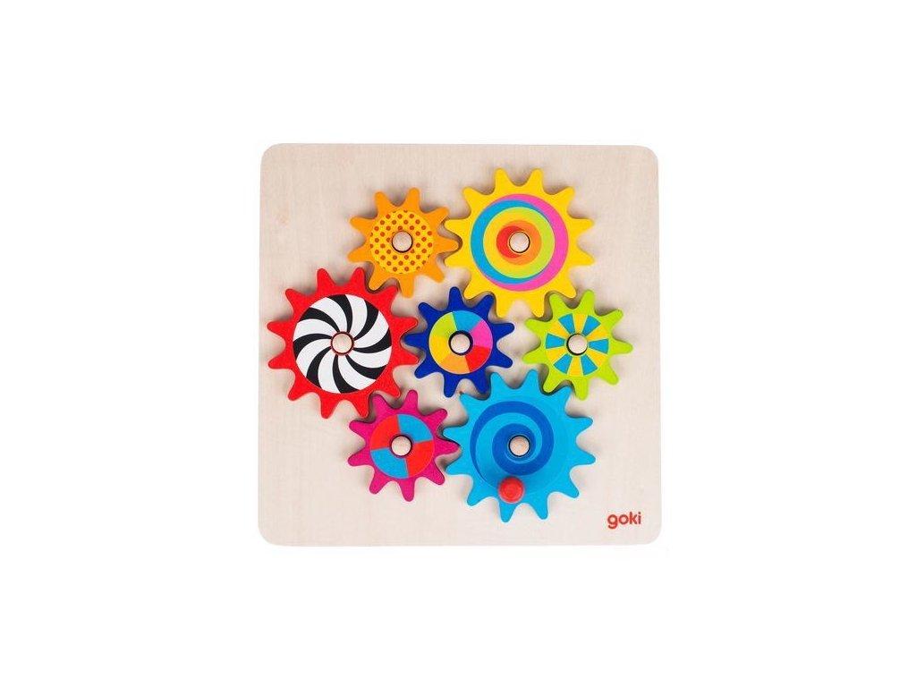 Goki Roztoč mě – hra s ozubenými kolečky, 8 dílů