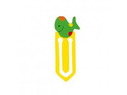 Záložka do knihy - Ryba zelená