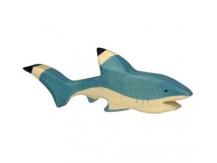 Žralok – dřevěné zvířátko (původní design)