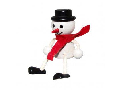 figurka sněhulák