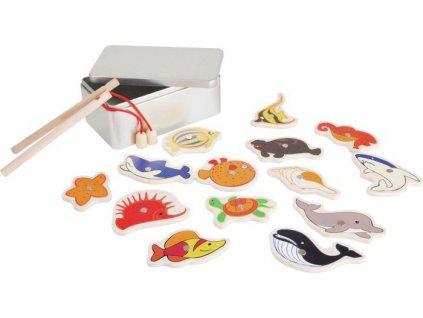 Rybářská hra - mořská zvířátka