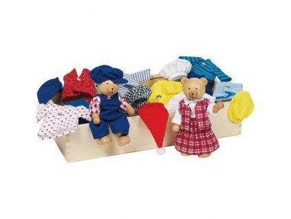 Panenky do domečku – medvídci