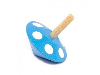 Káča modrá s puntíky